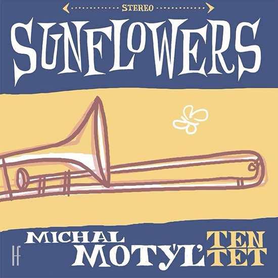 Motyl Sunflower