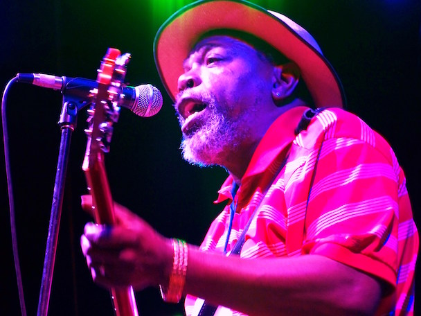 Lurrie Bell na Quito Blues