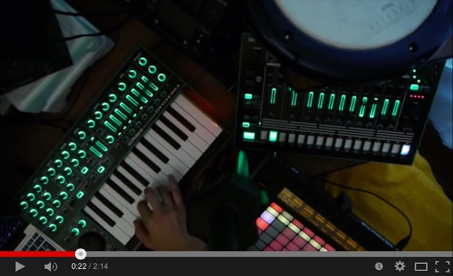 Roland Aira System-1 sound sample